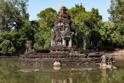 2019, Cambodia, Angkor Park, Neak Poan Temple