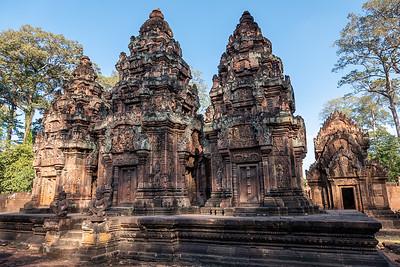 2019, Cambodia, Banteay Srei temple