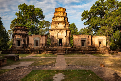 2019, Cambodia, Angkor Park, Kravan Temple