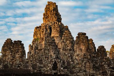 2019, Cambodia, Angkor Park, Bayon Temple