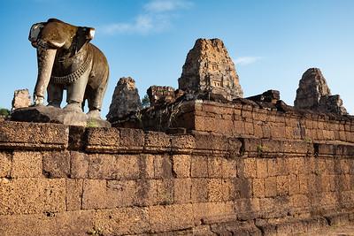 2019, Cambodia, Angkor Park, East Mebon Temple