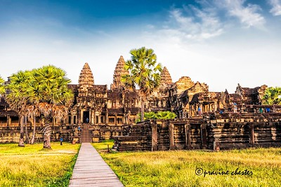 Angkor Wat in the Evening