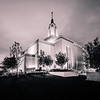Draper Utah LDS Temple - Early morning Twilight