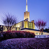 Atlanta Temple Blue Twilight