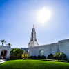Redlands California LDS Temple - Clear summer day