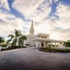Orlando Temple Driveway