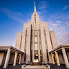 Oquirrh Mountain LDS Temple - Sunrise