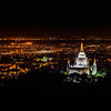 Oakland California LDS Temple - Pre Dawn from overlook