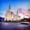 Brigham City Temple at Sunrise