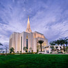 Gilbert Temple Evening