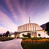 Provo LDS Temple - Colorful Sunrise