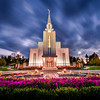 Vancouver LDS Temple Twilight