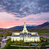 Timpanogos Temple - The northern range