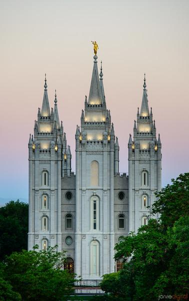 Morning SLC Temple