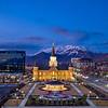 Provo City Center Temple - Timpanogos Dusk