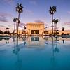 Mesa Temple Sunset Reflection