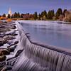 Idaho Falls Temple Waterfalls