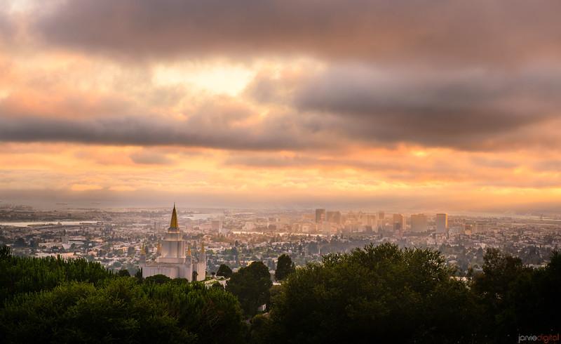Oakland Temple Overlook Warm