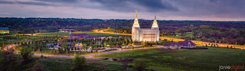 Kansas City Temple - Panorama