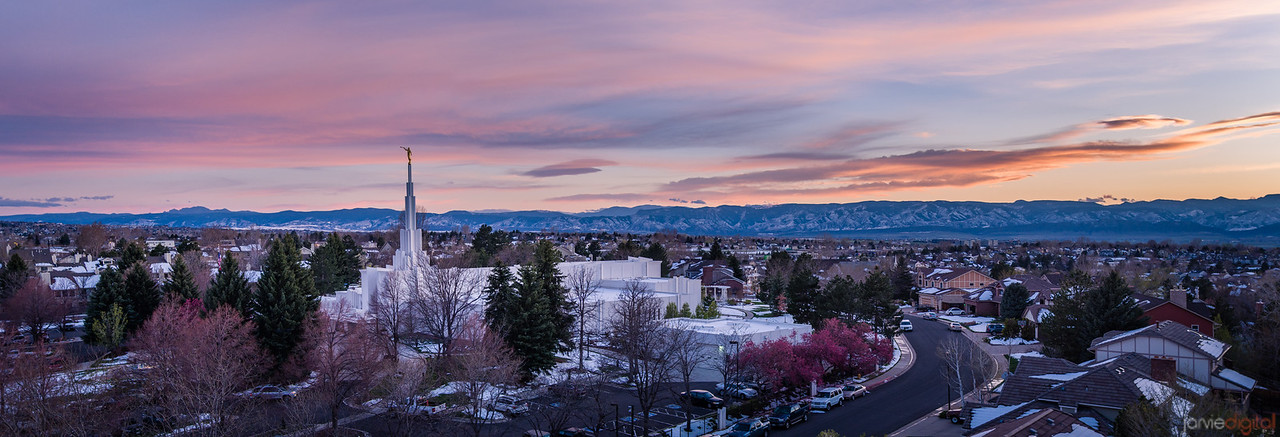 Denver Temple - Panoramic