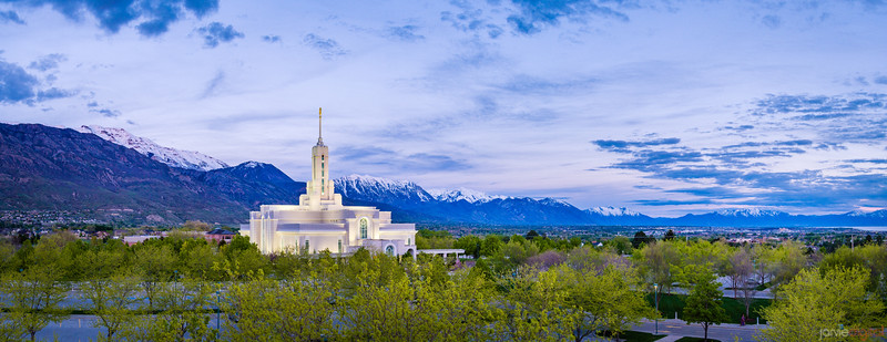 Timpanogos Temple - above the fray