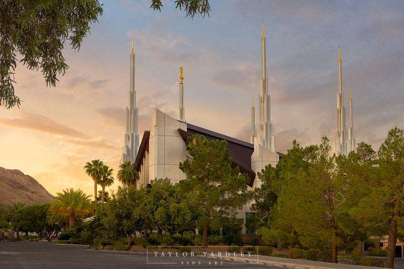 Las Vegas Valley Sunrise