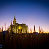 Oquirrh Mountain Utah Temple : 