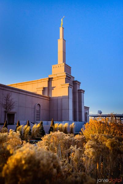 Albequerque Temple  Right Vertical