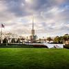 Atlanta Temple Lawn View