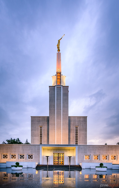 Switzerland Temple - Enter in