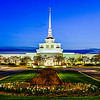Billings Montana Temple Twilight