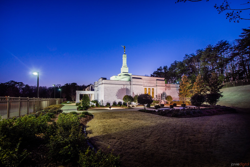 Birmingham Temple side view