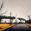 Birmingham Temple after Rain