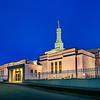 Bismark Temple Blue Entrance