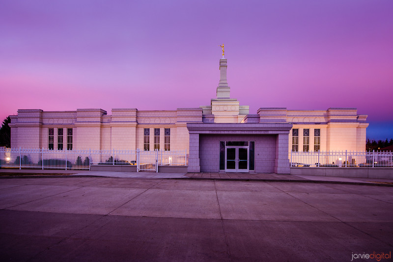 Bismark Temple Sunrise Front
