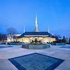 Boise Temple Evening (Entrance)