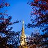 Boston LDS Temple spire