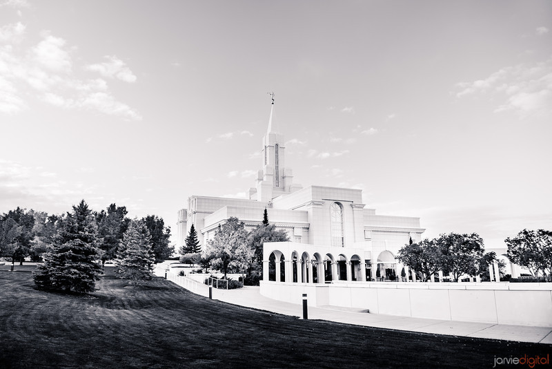 Bountiful Temple BW