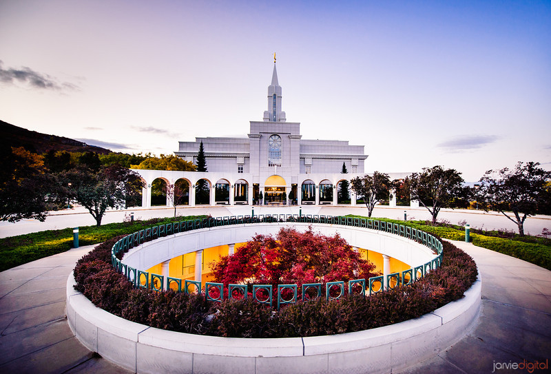 Bountiful Temple Circle
