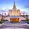 Brigham City Temple Entrance