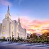 Brigham City Temple Sunrise (Horizontal)