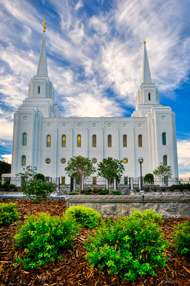 Brigham City Temple Morning (Side)