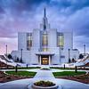 Calgary Temple Sunset (Side)