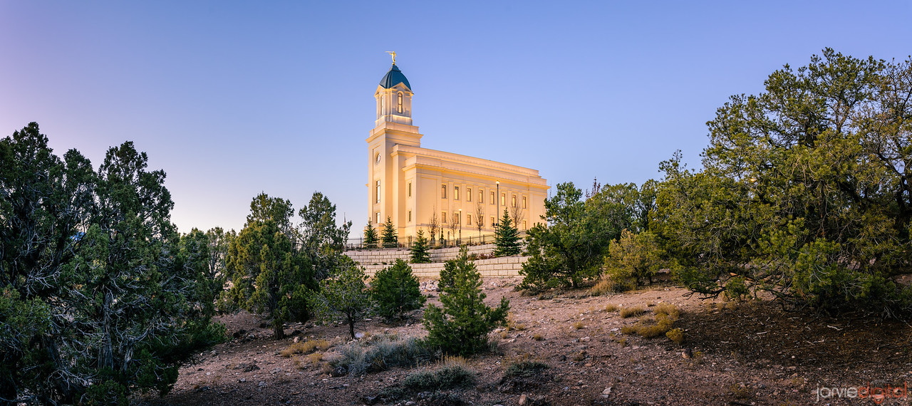 Cedar City Temple - In the Cedars