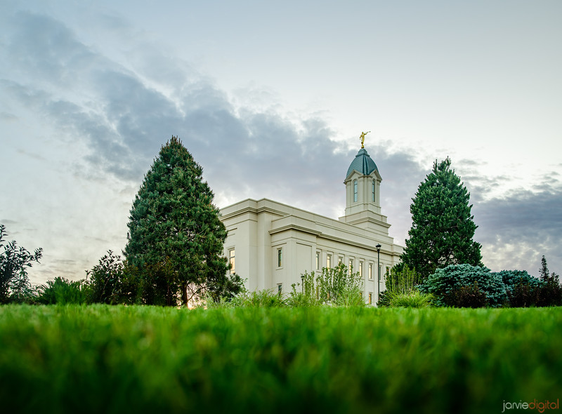 Cedar City LDS Temple - Morning