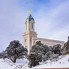 Cedar City Temple - Snowy morning
