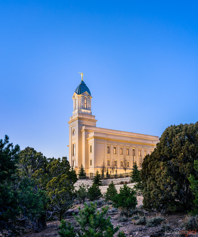 Cedar City Temple - Above the Cedars