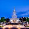 Columbia River Temple Early Morning (Front)