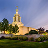Columbia River Temple Twilight