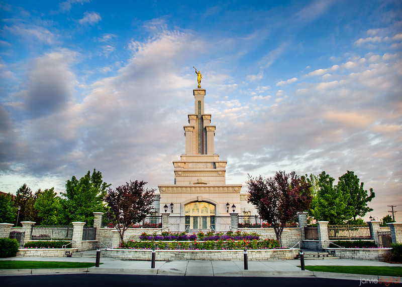 Columbia River Temple Sunrise (Front)